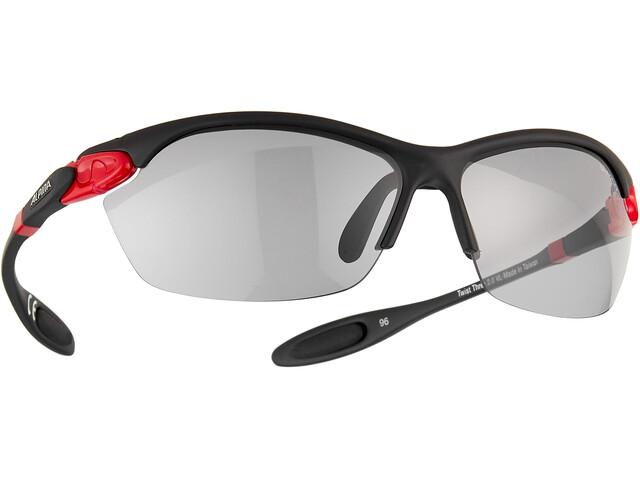 Alpina Twist Three 2.0 VL Bril, rood/zwart